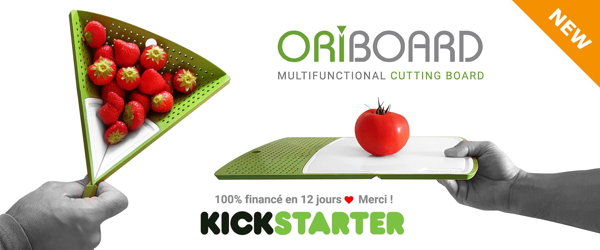 Oriboard Yannick HESCH Kickstarter
